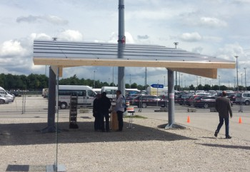 Another solar carport at Intersolar