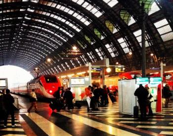 Train station Milan