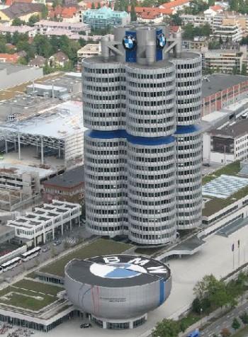 The BMW headquarters